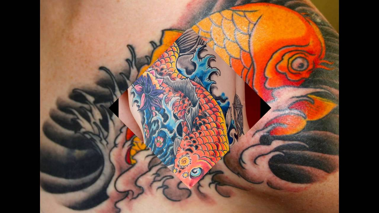 Traditional Japanese Koi Fish Tattoo Meaning And Designs