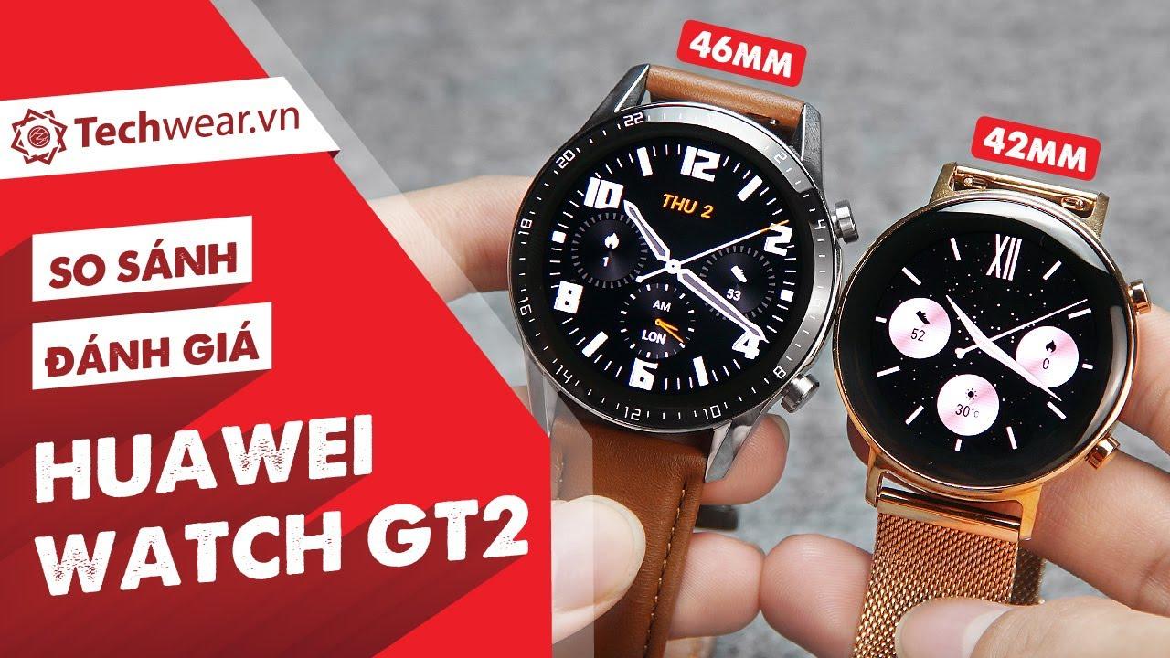 Đánh giá chi tiết HUAWEI WATCH GT2 (So Sánh 2 Bản 46mm và 42mm) - Đa Tính Năng, Nghe Gọi Trực Tiếp