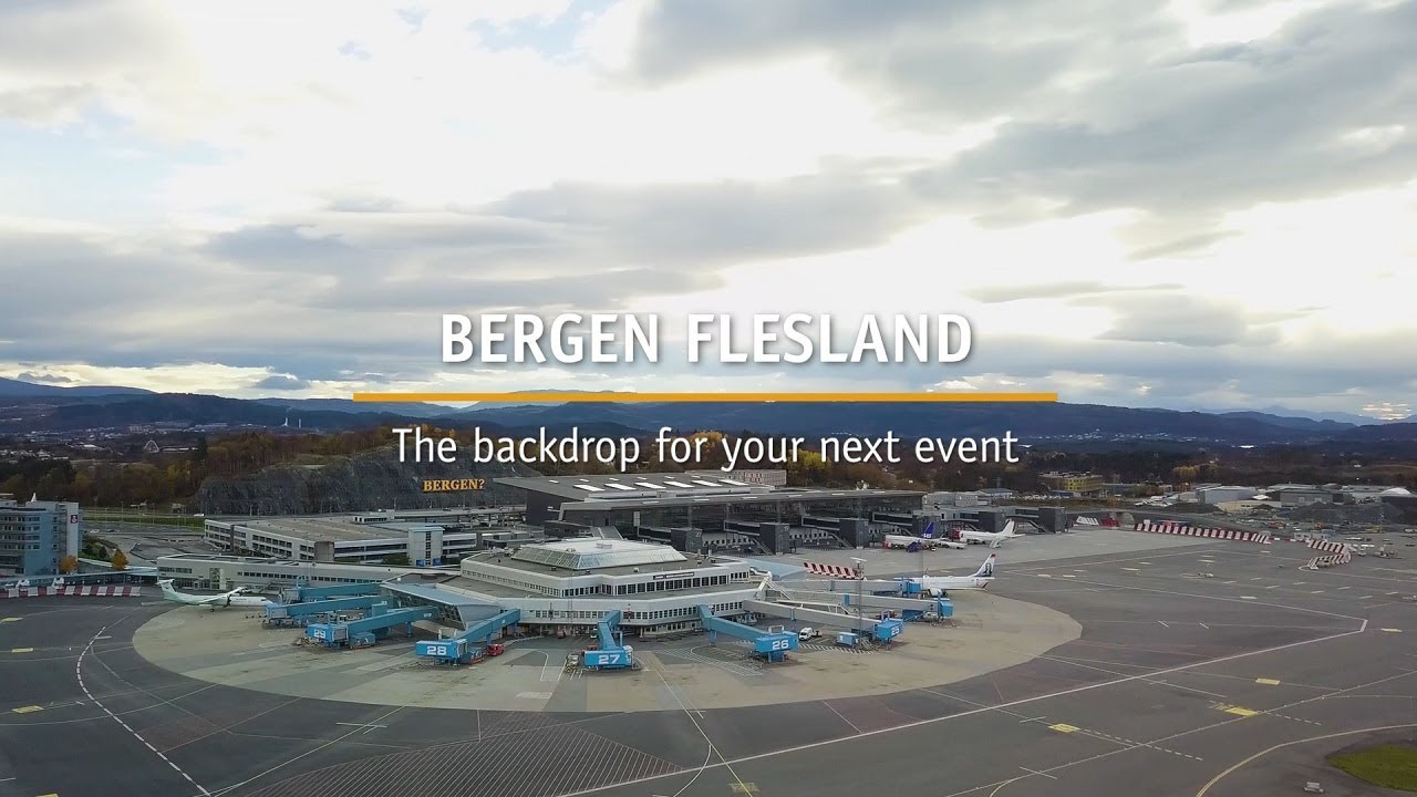 Thumbnail: Bergen Flesland - location for your next event (English)