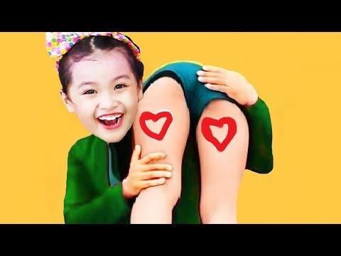 Kinderlieder und lernen Farben lernen Farben spielen Spielzeug in der Schule Kinderlieder Wort 046