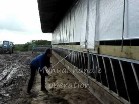 Ventilation curtain video