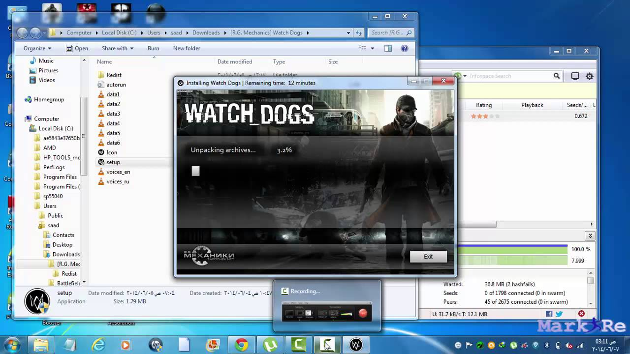 How to install Watch Dogs Repack R G  Mechanics 720p