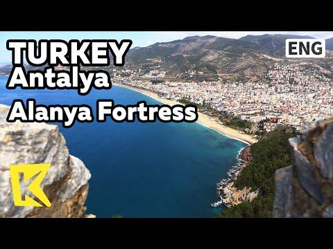 【K】Turkey Travel-Antalya[터키 여행-안탈리아]알라니아 성채, 클레오파트라 해변/Alanya Fortress/Cleopatra Beach/Tourism