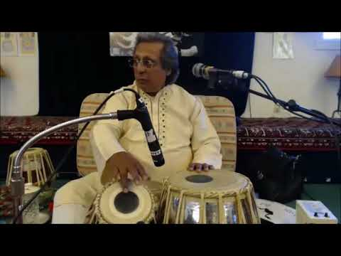 AACM's Intermediate Tabla with Pandit Swapan Chaudhuri