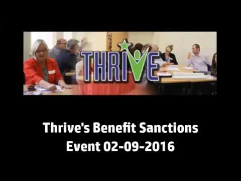 @ThriveTeesside: Benefit Sanctions - claimants experience