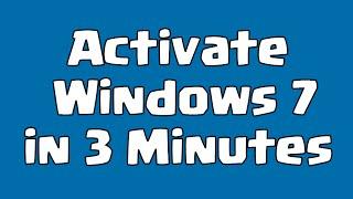 Windows 7 Activator Download (2017)