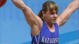 Weightlifting world championship 2009 75 kg Svetlana Podobedova