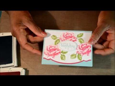Stampin Up Demo Birthday Card Graduation Card Share Youtube