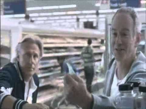 John McEnroe and Bjorn Borg in Funny Tennis Competition Commercial Ad for Tesco Supermarkets UK 2007