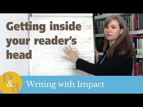 Empathy maps - how to get inside your reader's head