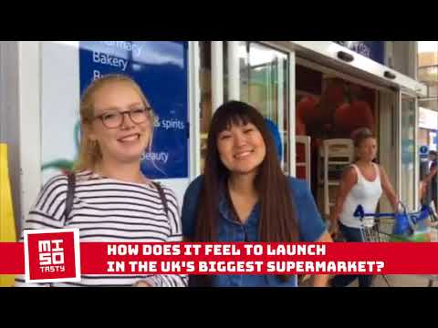 Start up Stories: Miso Tasty launches in TESCO!