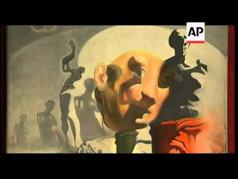 Dali exhibition opens in Moscow