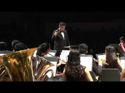 Banda Sinfónica del Conservatorio de la Universidad  Nacional - Obertura 1812