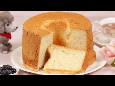 Chiffon Cake Recipe | Cooking with Dog