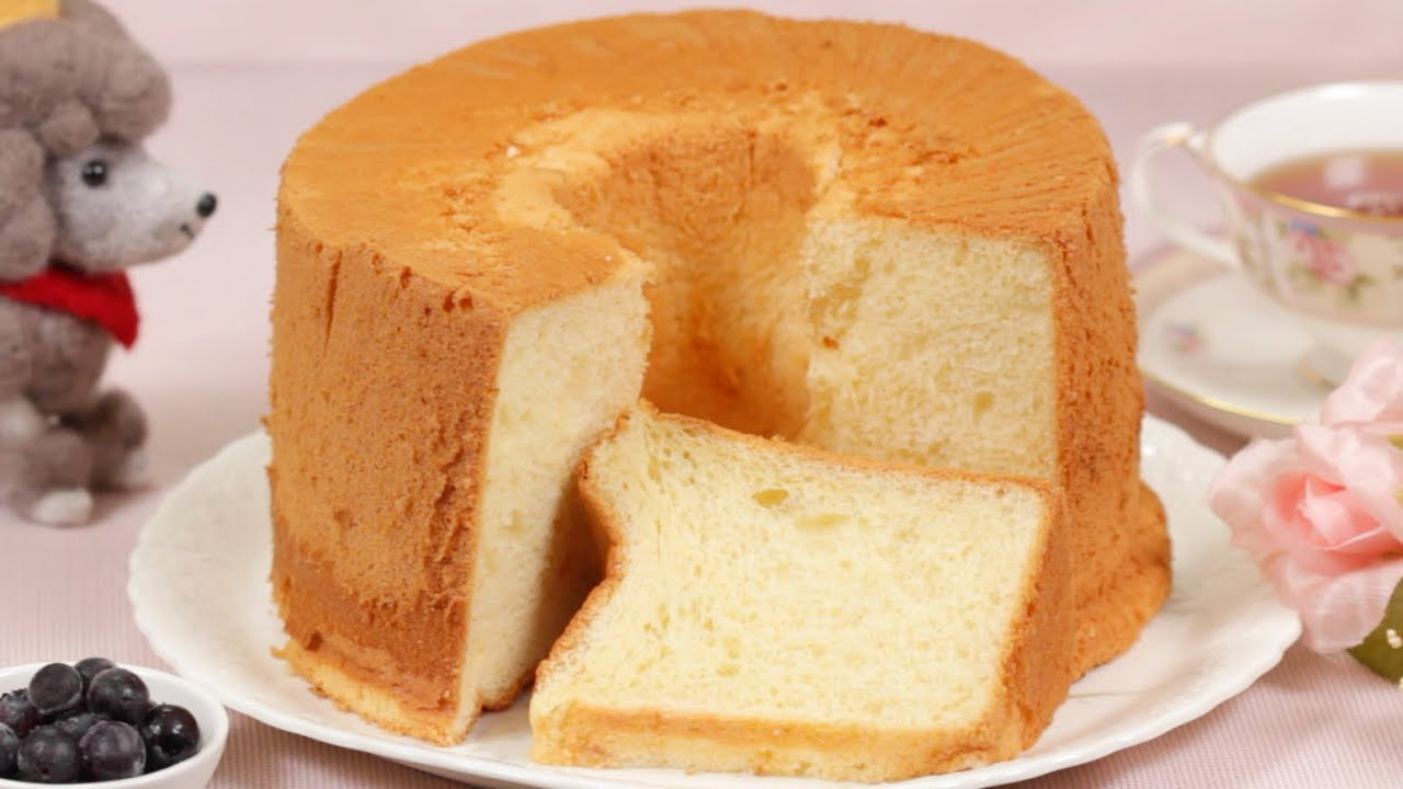Hong Kong Chiffon Cake Recipe