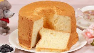 Chiffon Cake Recipe   Cooking with Dog