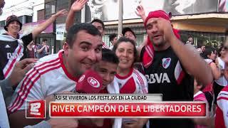 Deportes: River campeón de la Libertadores.