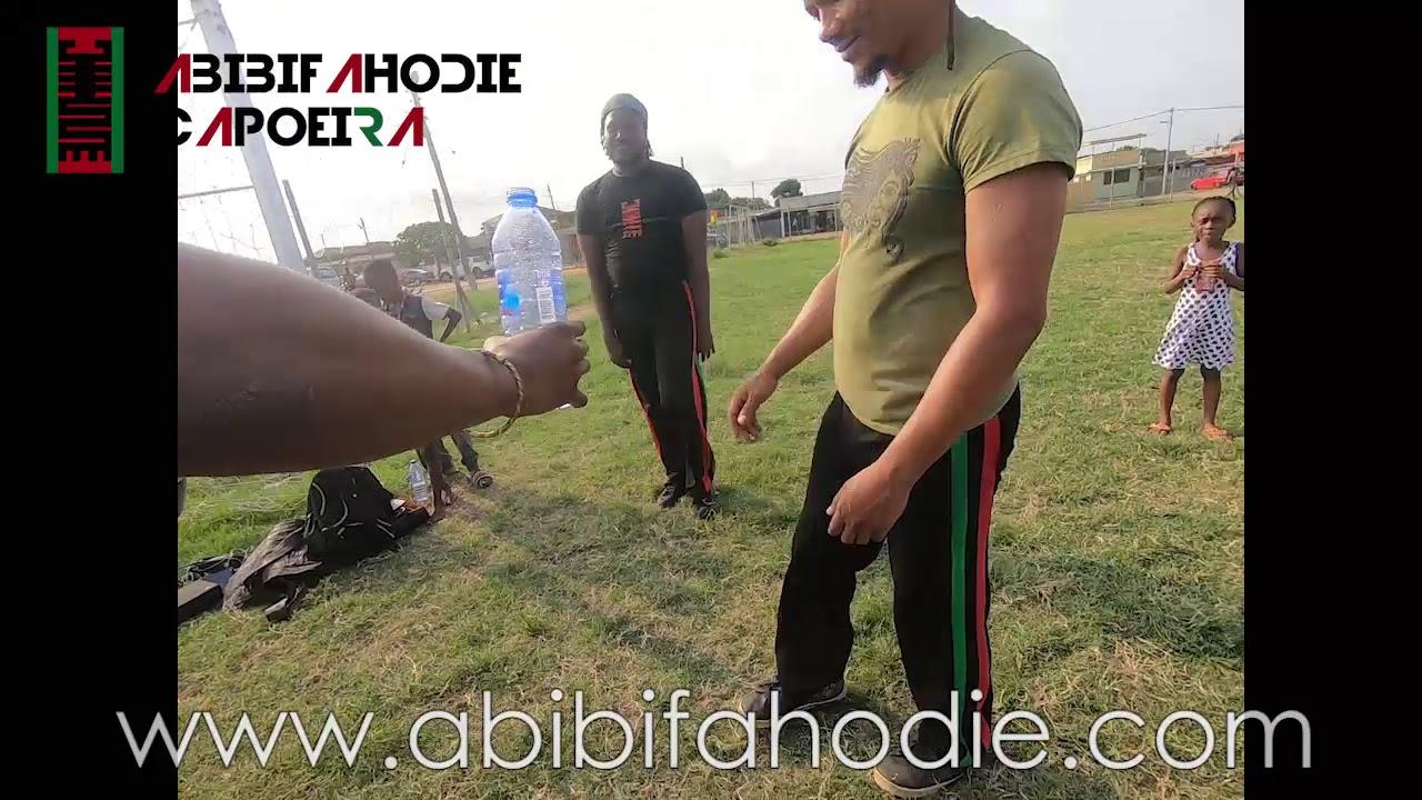 Abibifahodie Capoeira Bottlecap Challenge