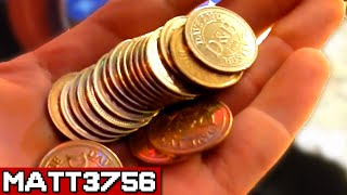 Finding Coins Under The Arcade Coin Pusher!