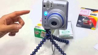 [렌씽♡]타이머 삼각대 카메라 (55i)사용방법