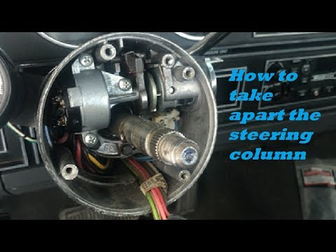 How to replace the ignition switch dodge w150