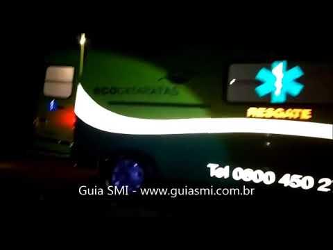 São Miguel: Idoso é socorrido após veículo sair da pista e cair em valeta na BR-277