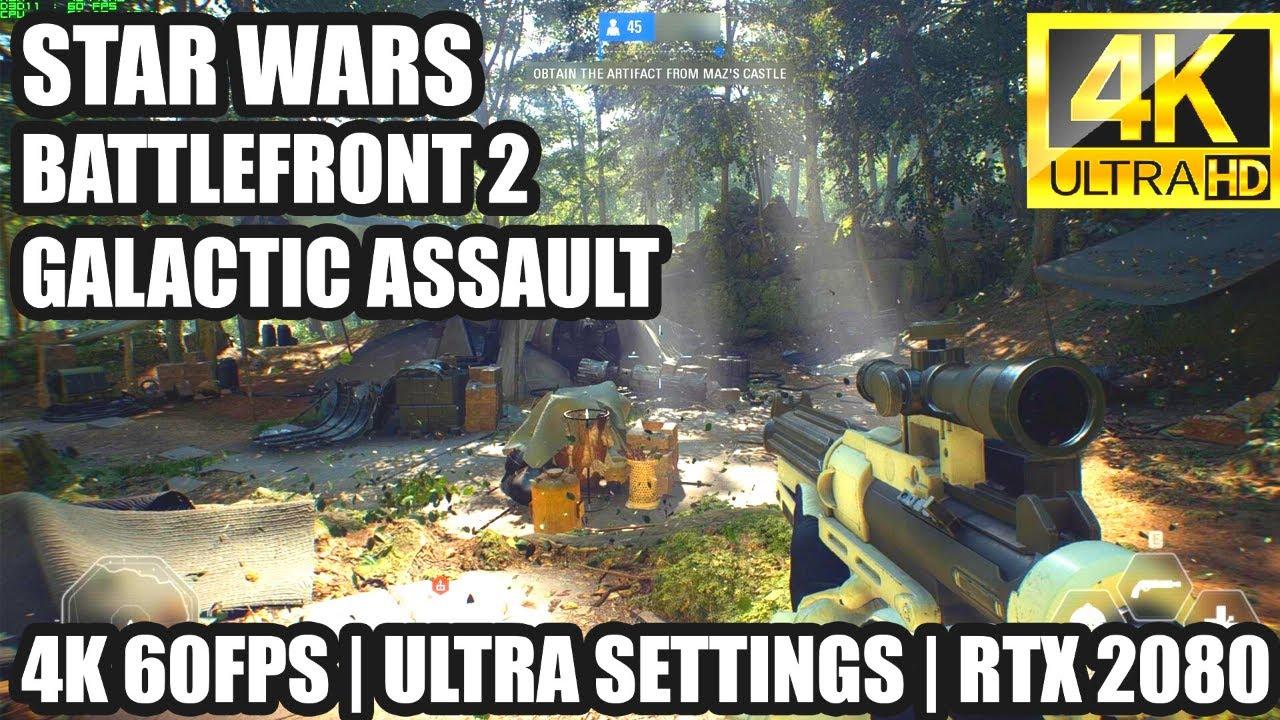 Star Wars Battlefront 2 4K ULTRA 60FPS | MSI RTX 2080 + i5 9400F