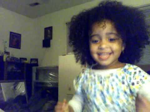 Atiana Crazy Hair Dance
