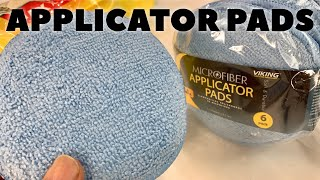 Detail Your Car with Soft Microfiber Applicator Pads by Viking Car Care Unboxing