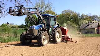 Siew Kukurydzy 2018 ☆ New Holland TD5050 & Kongsklide Demeter Vario㋡ Agro rolnictwo
