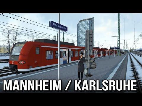TS2015 - Mannheim to Karlsruhe (DB BR425)