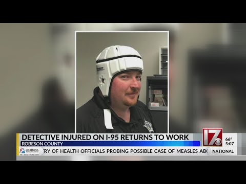 Robeson County Deputy Hit On I-95 Returns To Work
