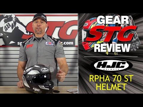 HJC RPHA 70 ST Helmet Review | Sportbike Track Gear