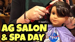 American Girl Hairstyles & Spa Treatment at American Girl Salon