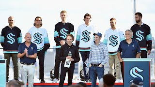 Seattle Kraken unveil their inaugural team at the 2021 NHL Expansion Draft