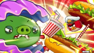 Angry Birds Fight: SUPER CLAM MONSTER PIG BATTLE Snow Island 8-8!