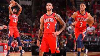 Brandon Ingram (35 PTS), Lonzo Ball (18 PTS) and Josh Hart (23 PTS) Play Big For Pelicans