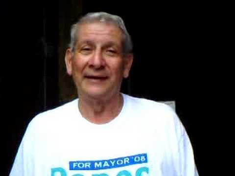 Panos for Mayor, Says Hawaii Senator Sam Slom