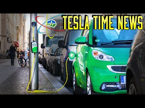 Tesla Time News - Lamp Post EV Chargers