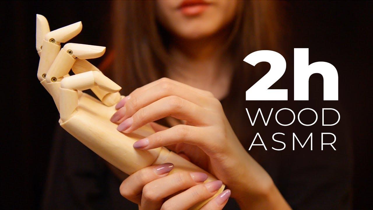 Asmr No Talking asmr relaxing wood triggers (no talking)