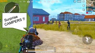 This squad was hiding but I gave them a Surprise with my Scar-L !| Pubg Mobile Asia Pro