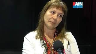 ANA YACOBINO   GINECOLOGA   OCTUBRE MES DEL CANCER DE MAMA   CHARLA EN LA ESCUELA DE ACTIVIDADES CUL