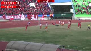8 Besar DU 2014: Persis Solo 1-1 Pusamania Borneo FC