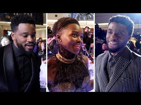 What Does Chadwick Boseman Geek Out About? Black Panther PWR from Seoul!