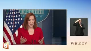 Jen Psaki: Vaccine Outreach to White Conservatives Includes CMT and NASCAR