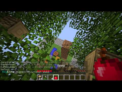 Minecraft: PC Edition - Skyblock  Survival - Part 2 - w/Nuked Out Enderman
