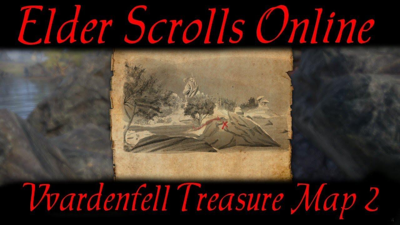 Carte Au Tresor Vvardenfell 1.Vvardenfell Treasure Map 2 Elder Scrolls Online Eso
