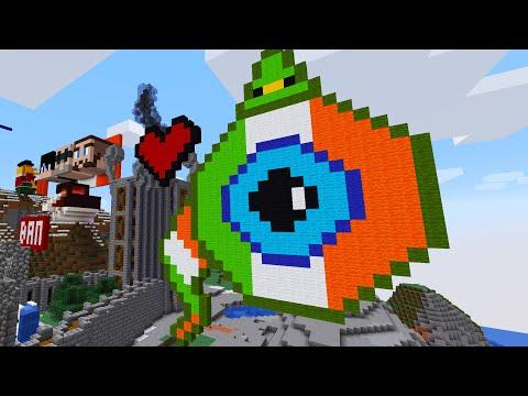 Recreating Ireland In Minecraft