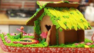 Śliczny domek z piernika dla skrzata Leprechaun'a