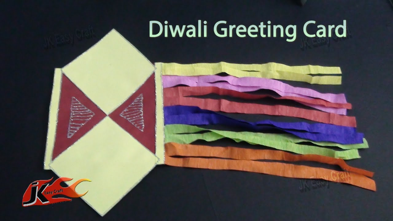 Diy Easy Diwali Greeting Card School Projects For Kids How To